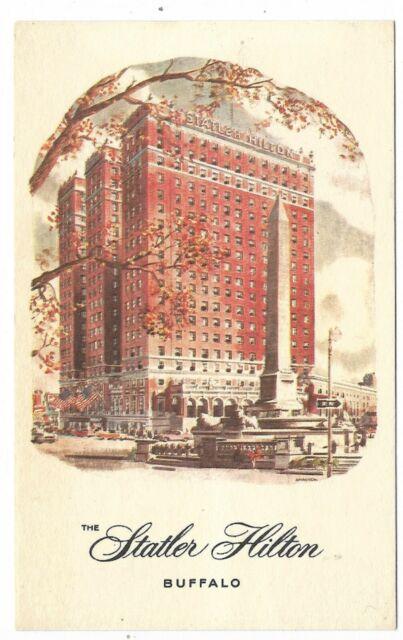 BUFFALO NEW YORK The Statler Hilton