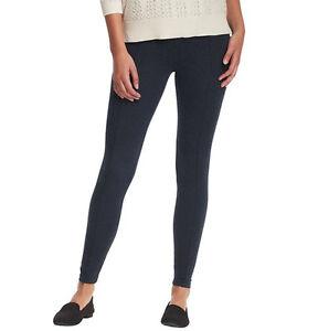 Ann Taylor Loft Lou Amp Grey Back Zip Leggings Pants Size Xx