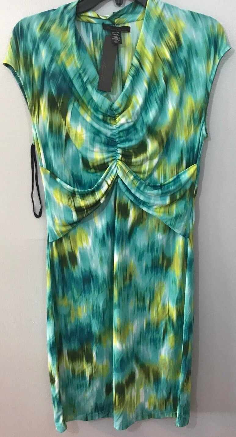 Kenneth Cole Size Medium bluee Pattern Dress New Women's Dresses