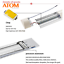 ATOM-LED-Batten-Tube-Light-Slim-Ceiling-Fitting-2ft-20W-30W-Cool-White thumbnail 4