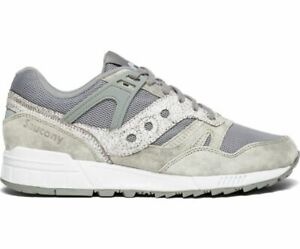 Saucony-S70416-1-Grid-Sd-Garden-District-Grey-White-Mens-Fashion-Sneakers-Shoes