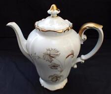 Vintage H&C HEINRICH Selb Bavaria Germany FANNY ELBLER Pattern Coffee Pot