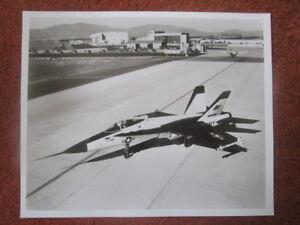 PHOTO PRESSE BOURGET 1973 NORTHROP YF-17 COBRA GENERAL ELECTRIC J101//GE15 ENGINE