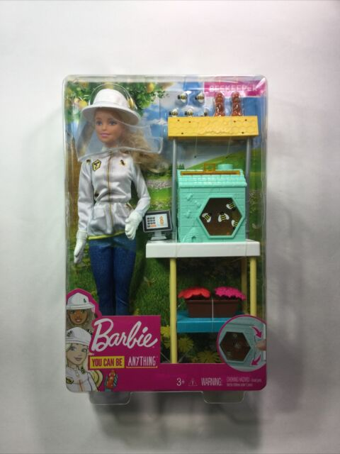 BEEKEEPER BARBIE DOLL PLAYSET 2017 MATTEL ASST. DHB63 FRM17 (SHIPS NEXT DAY)