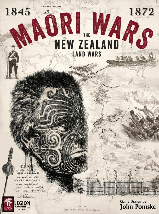 Maori Wars  The New Zealand Land Wars, 1845-1872, NEW