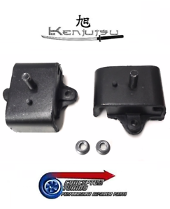 Brand-New-Kenjutsu-Replacement-Engine-Mounts-x-2-Fit-Datsun-260Z-L26