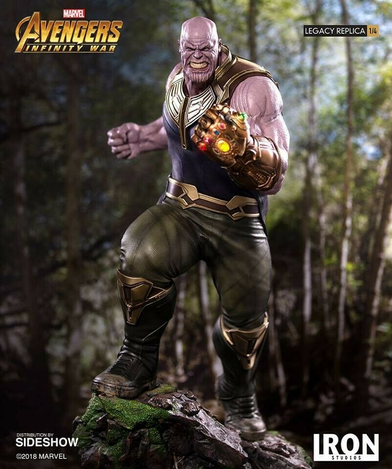 Thanos Iron Studios 14 Scale Statue Avengers Infinity War