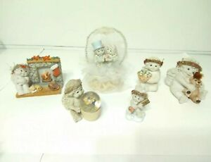 Lot of 6 Vintage Collectable Dreamsicles Figurines From 1990's to Early 2000's