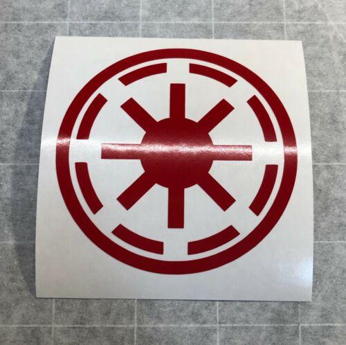 Star Wars Galactic Republic Logo Vinyl Decal Sticker Pick Color Size Quantity