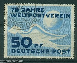 DDR-242-o-Tagesstempel-75-Jahre-Weltpostverein-UPU-Stephan