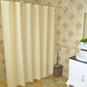 Details zu Modern PEVA Bad Duschvorhang Badewannenvorhang Dusche Vorhang  Mit Hooks