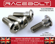Honda CBR600RR Rear Disc Bolt Kit - Racebolt Titanium