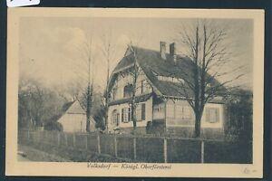 DernièRe Collection De 35013) Ak Hambourg Volksdorf Oberförsterei 1913, Bahnpost Altrahlstedt-wohldorf-afficher Le Titre D'origine Sensation Confortable