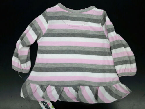 6//9 Months Infant Girls Mini Bean 2pc Pink /& Gray Set Size 3//6 Months