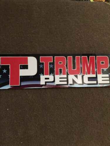 Trump Pence Sticker Political Republican