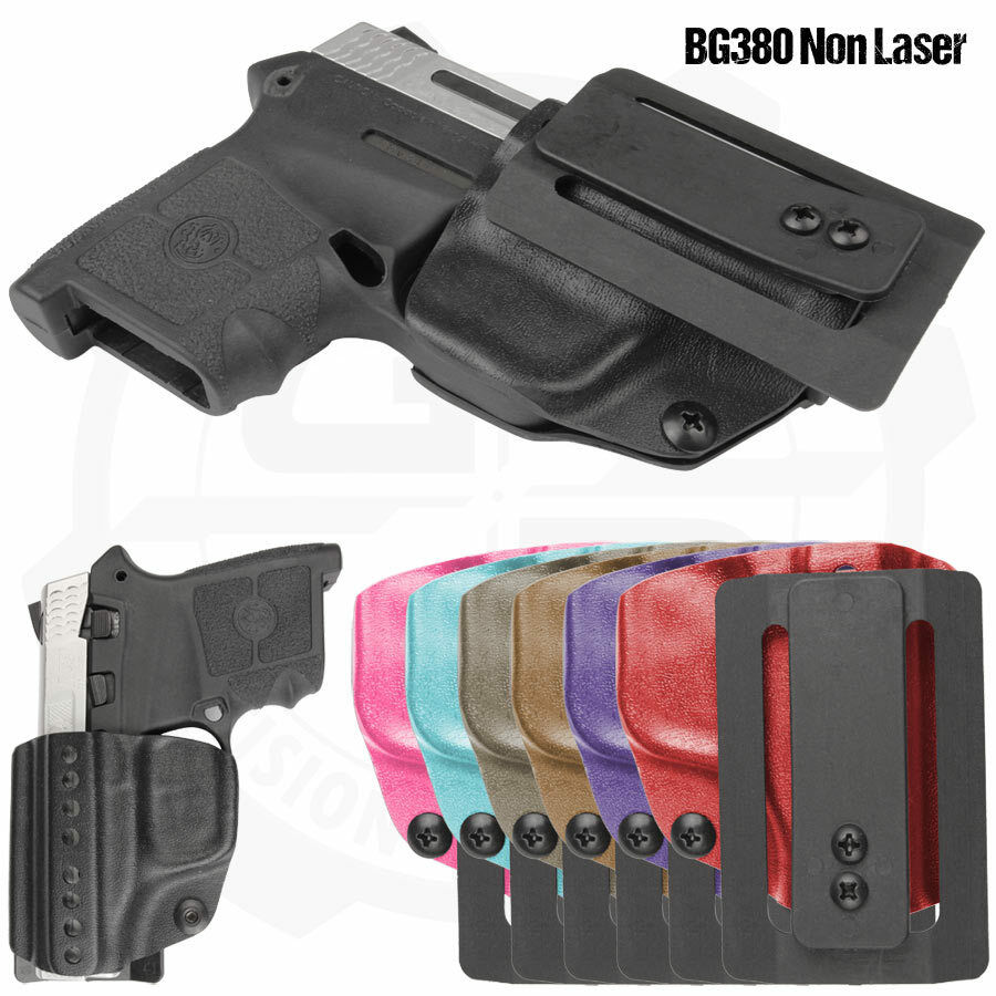 Compact Holster with Fabriclip for S&W BG380 Non Laser Pistols - Galloway