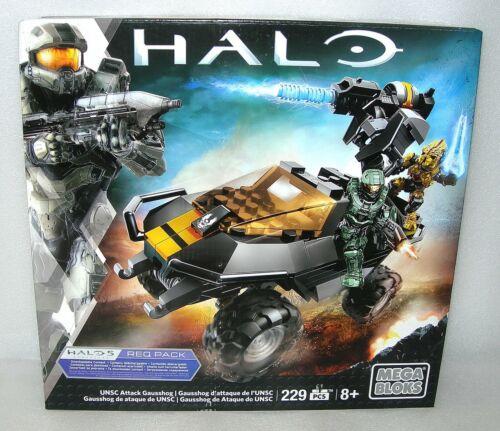 Halo Mega Bloks UNSC Attack Gausshog CNG66-229 pcs NISWB
