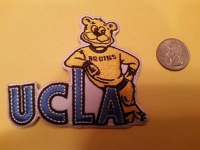 "UCLA Bruins Vintage RARE Embroidered Iron On Patch ( CLASSIC ) 4.5"" x 3"" NCAA"