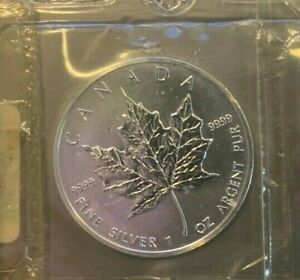 1994-Canadian-Silver-Maple-Leaf-coin-1oz