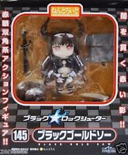 New Good Smile Company Nendoroid 145 Black Rock Shooter Black Gold Saw Painted