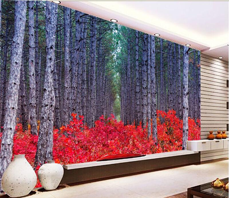3D Forest Plants 593 WallPaper Murals Wall Print Decal Wall Deco AJ WALLPAPER
