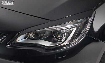 RDX Scheinwerferblenden OPEL Astra J (nicht GTC) Böser Blick Blenden Spoiler