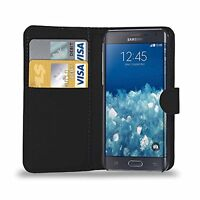 For Samsung Galaxy NOTE EDGE Premium Leather Magnetic Flip Wallet Case Cover