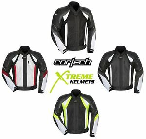 Cortech-VRX-Air-Textile-Motorcycle-Jacket-Waterproof-Mild-Hot-Weather-XS-3XL