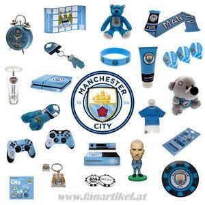 Manchester-City-Fanshop-Fanartikel-Schal-Fahne-Ball-Pin-Geburtstag-Geschenk