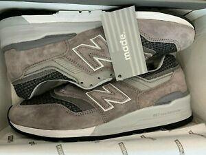 Details about SALE NEW BALANCE 997 M997 M997PAK SIZE 5 - 13 GREY MADE IN  USA BRAND NEW