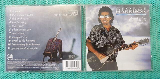 "GEORGE HARRISON ""Cloud nine""  - #0102 - CD: neuwertig"