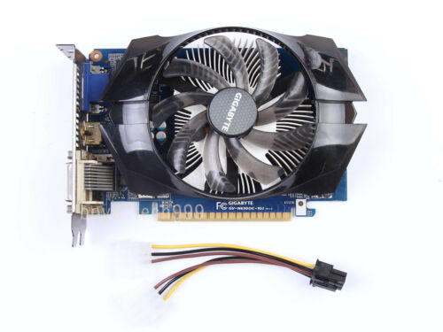 Gigabyte GTX650 1GB GDDR5 384SP GTX 650 1G 80.0GB//s DVI HDMI VGA Video Card