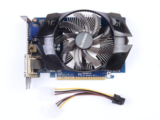 Gigabyte GTX650 1GB GDDR5 384SP GTX 650 1G 80.0GB/s DVI HDMI VGA Video Card