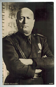 1937 Berlin Germany Benito Mussolini state visit Real Picture postcard Cover RPP