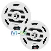 Mtx Wet65-w 6.5 Wet Series 2-way Marine Audio Coaxial Speakers Wet65w White