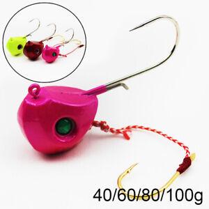 frente-Duro-Extra-single-Hook-Cabeza-de-senuelos-de-pesca-Crank-Bait-Jig-Head