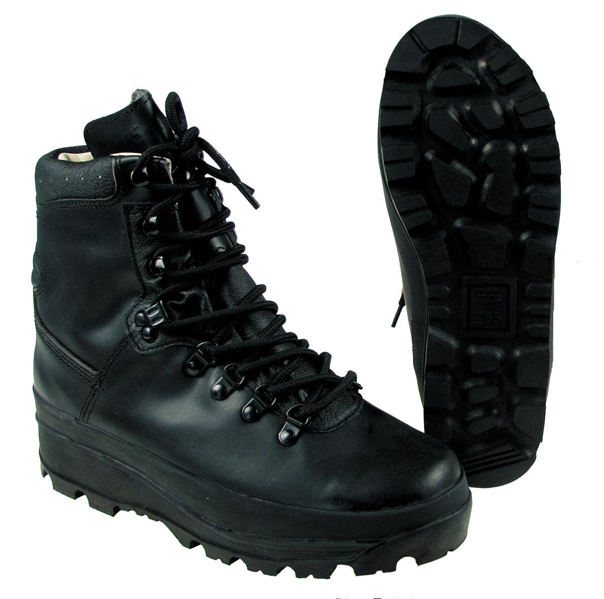 MFH MONTAÑA BW ZAPATOS breathtex Bundeswehr botas de cuero zapatos botas negro 39-48