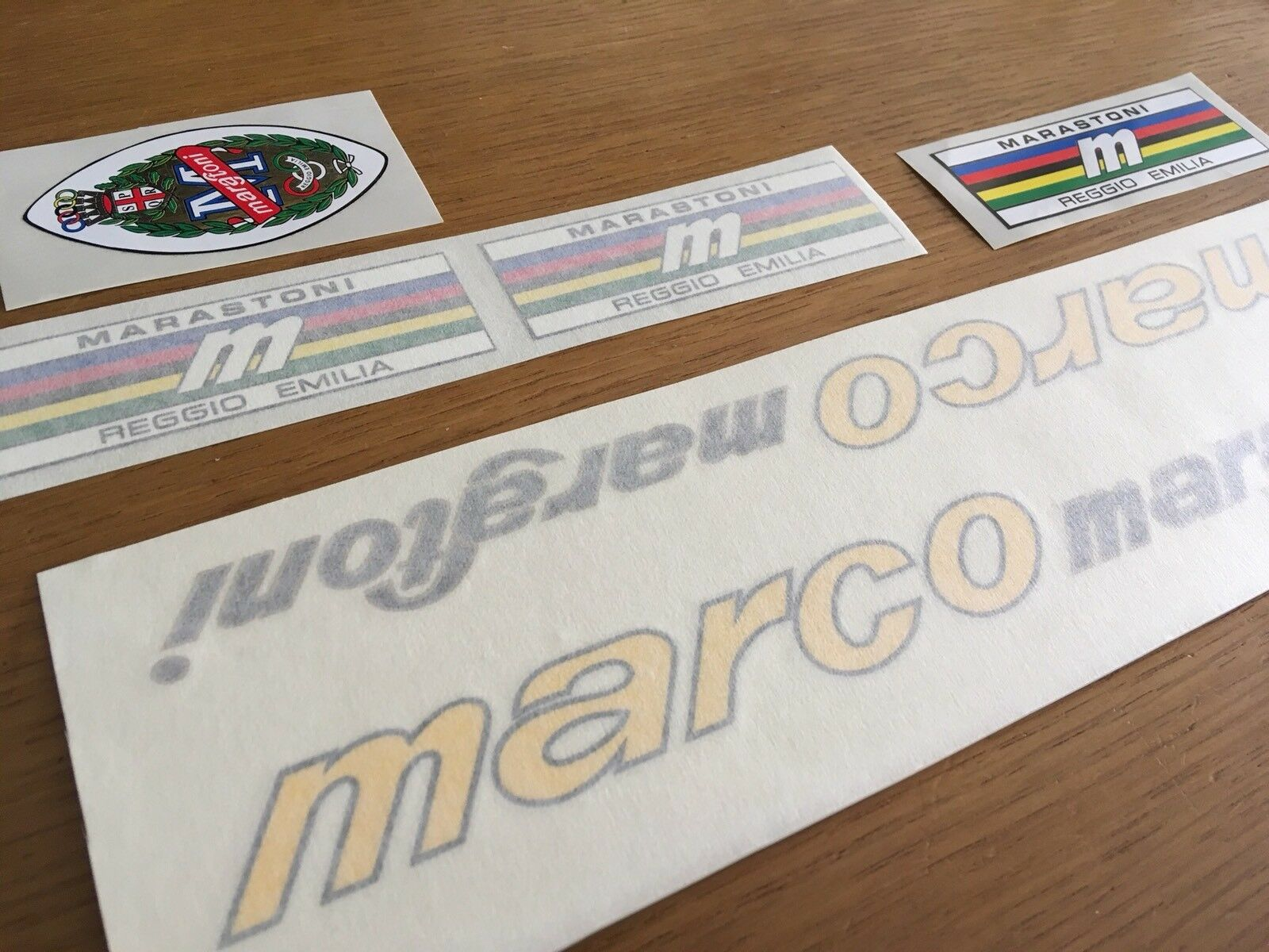 Marco  Marastoni Licinio Reggio Emilia decal adesivi bici  Set  enjoy saving 30-50% off