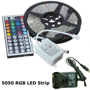 5050-RGB-LED-STRIP-LIGHTS-COLOUR-CHANGING-TAPE-UNDER-CABINET-KITCHEN-LIGHTING