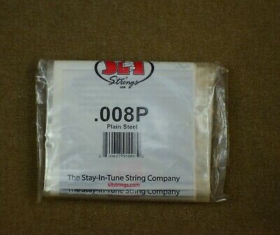 Single Strings Plain Steel Size .008 S.I.T