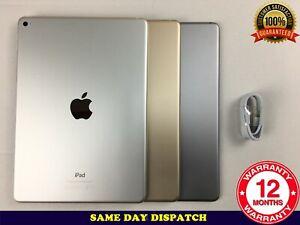 "Grade B Apple iPad Air 2 16GB 32GB 64GB 128GB 9.7"" WiFi iOS 15  A1566"