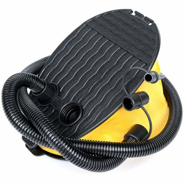 3 LTR BELLOWS AIR STEP FOOT PUMP FOR BEDS DINGHY INFLATABLE TOYS AIR PUMP C X7I3