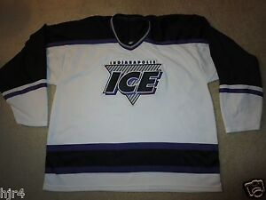 Indianapolis-Ice-Indy-IHL-CHL-minor-League-Hockey-CCM-Jersey-L-XL-mens