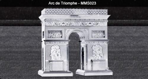 Tweezer  010237 Metal Earth Arc De Triomphe 3D Metal  Model