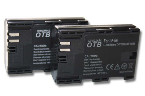 CHIP FOR CANON EOS 5D MARK II 2 ACCU 2x BATTERY