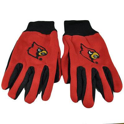 Radient Ncaa Louisville Cardinals Nutzen Handschuhe Arbeit Einheitsgröße Textur Palms Fanartikel Baseball & Softball