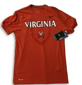 bd65e447b35e NWT New Virginia Cavaliers Nike Dri-Fit Football Icon Legend Small T ...