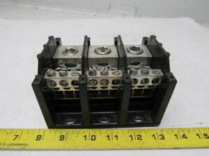 Details about Cooper Bussmann 16376-3 3 Pole Buss Power Distribution Block  420A-600V