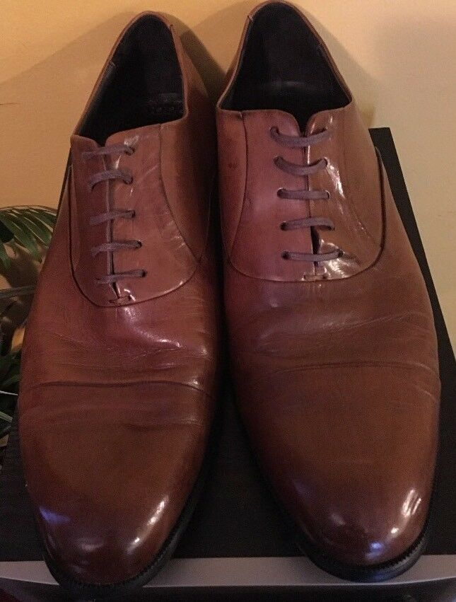 Kenneth Leather Cole New York Mens Leather Kenneth Oxfords 'Chief Council', Cognac, 11.5M d523c2