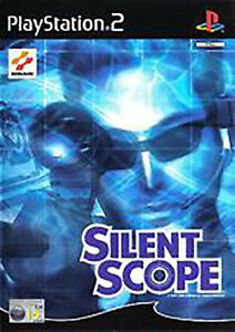 SILENT-SCOPE-COMPLETE-with-Manual-PS2-PLAYSTATION-2